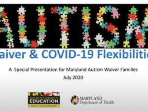 Video: Autism Waiver & COVID-19 Flexibilities