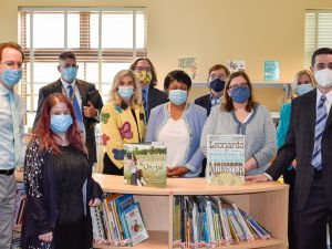 Lourie Center for Children's Social and Emotional Wellness Holds Ribbon Cutting for New Media Center